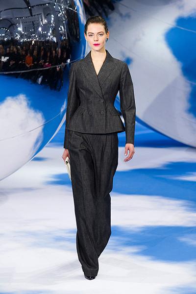 Показ Dior, осень-зима 2013/14