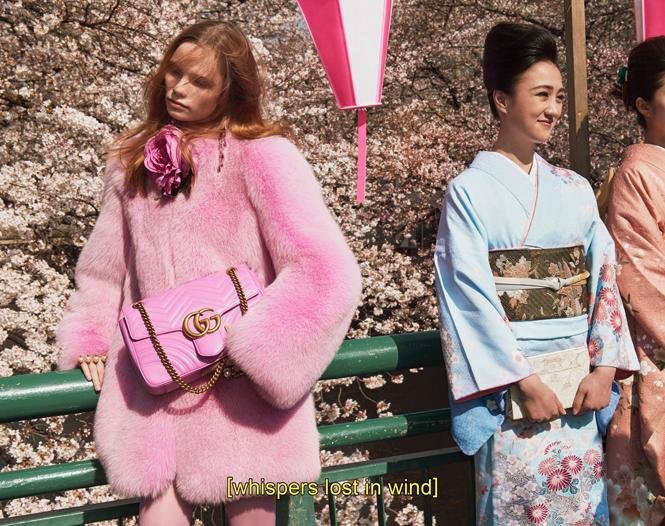 Фото №2 - Японское приключение Петры Коллинс и Ко: новая кампания Gucci
