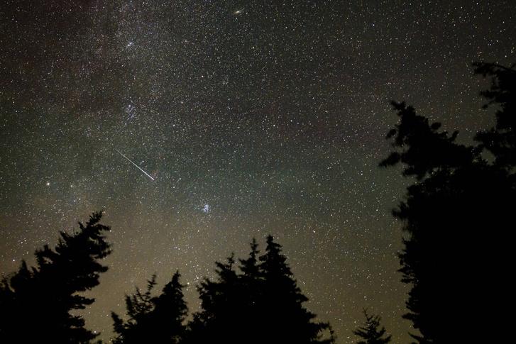Фото №1 - В ночь с 12 на 13 августа над Москвой пройдет звездопад Персеиды