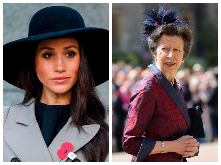 Фото №1 - Невестка с проблемами: почему принцесса Анна была против свадьбы Гарри и Меган