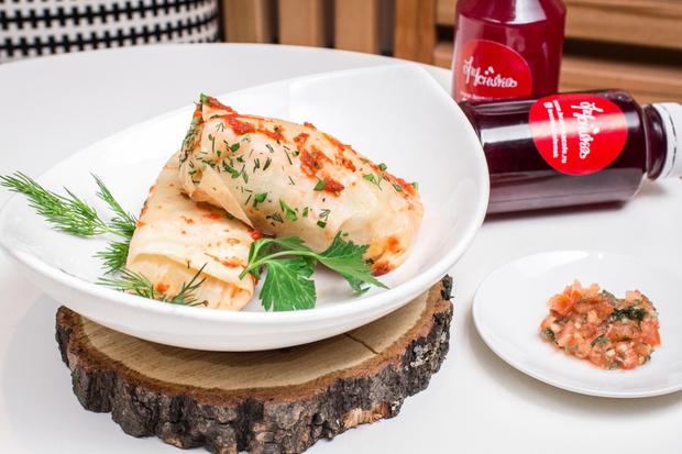 Фото №12 - Постно и вкусно: рецепты вегетерианских блюд от «Брусники»