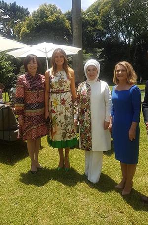 Фото №8 - G20 в Аргентине: самые яркие модные выходы Первых леди