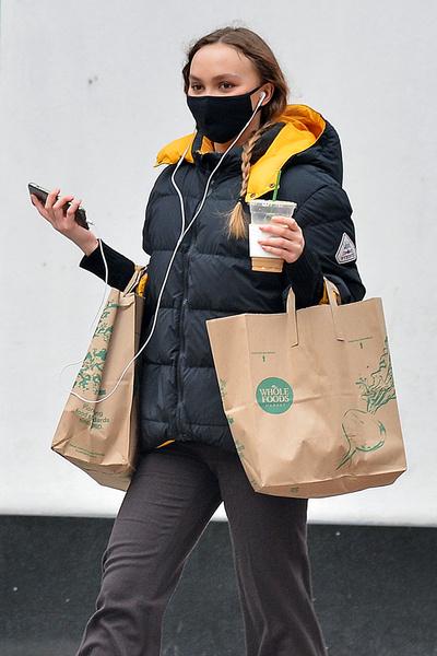 Лили-Роуз Депп инстаграм фигура сейчас 2021 фото