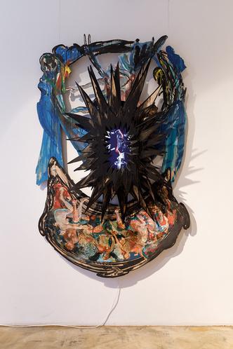 Фото №2 - Персональная выставка Шишкина-Хокусая в Marina Gisich Gallery