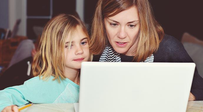 Без паники: большой путеводитель по дистанционному обучению для детей и родителей