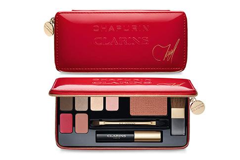 набор для праздничного макияжа Palette de Maquillage, Clarins