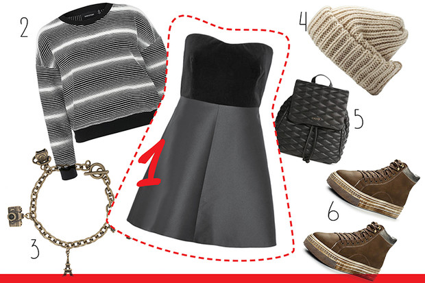 Фото №2 - С чем носить платье-бюстье