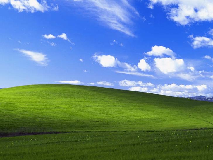 Фото №1 - История одной фотографии: заставка Windows XP, январь 1996 года