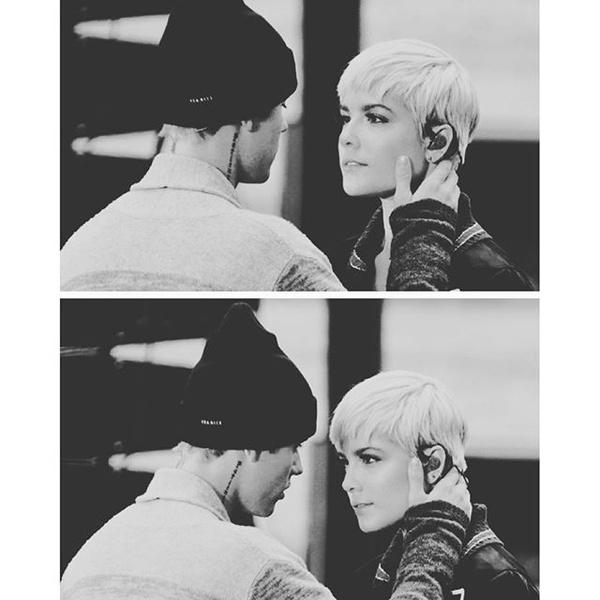 Фото №3 - Джастин Бибер выступил с Холзи, и они чуть не поцеловались!