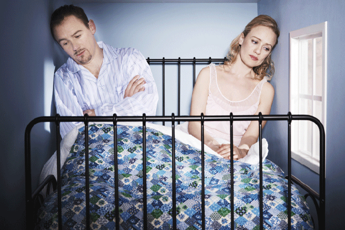Двое в постели