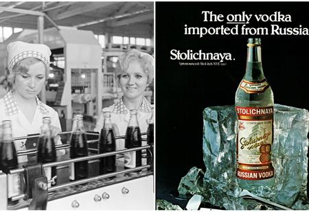 Как СССР и США договорились менять водку на пепси-колу