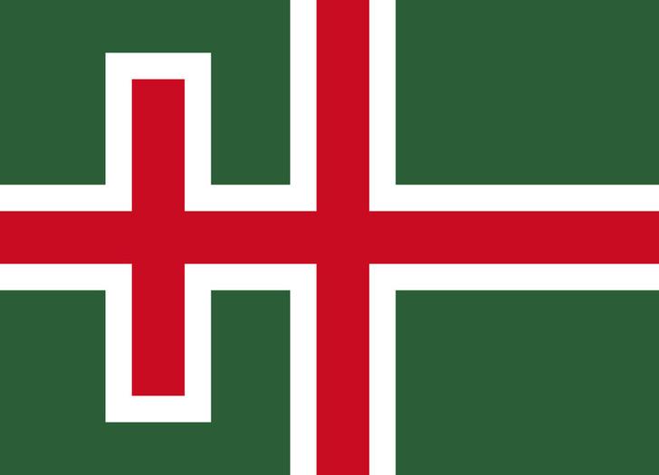 Фото №8 - Флаги одних государств в виде флагов других государств (странная галерея)