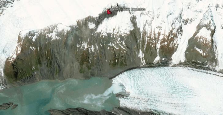 Фото №1 - Ученые предупреждают о гигантском цунами на Аляске