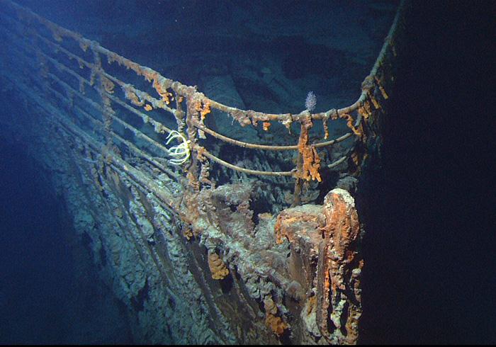 Фото №1 - «Титаник» исчезнет навсегда