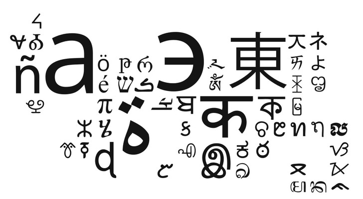 Фото №1 - Карта: самые распространенные системы письма в мире
