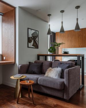 Фото №2 - Как уместить в однушке спальню, кабинет и гостиную: фото