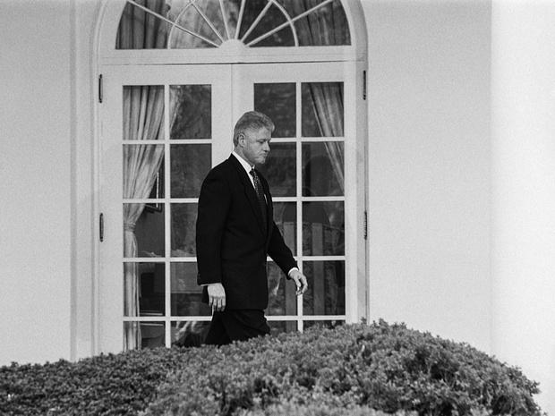 Фото №2 - Внутри скандала с Моникой Левински: что происходило в Белом доме накануне импичмента Билла Клинтона