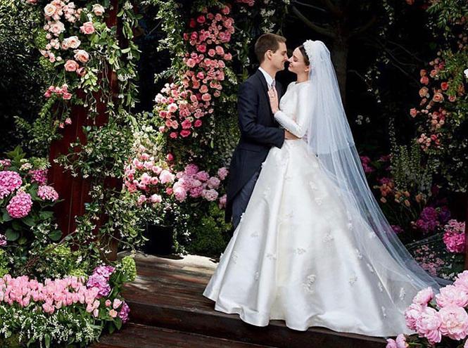 Фото №1 - Свадебное платье Dior на заказ