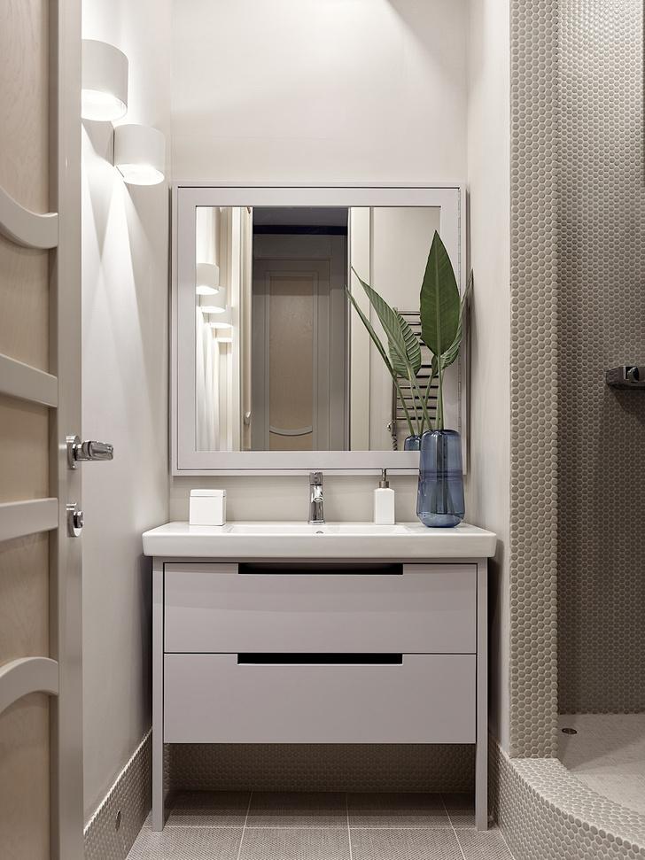 Фото №14 - Квартира 105 м² с необычным дизайном и арочными окнами на ЗилАрт