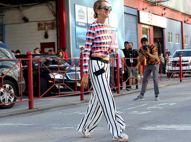 Фото №16 - Образы гостей недели моды в Нью-Йорке в прошедшие выходные