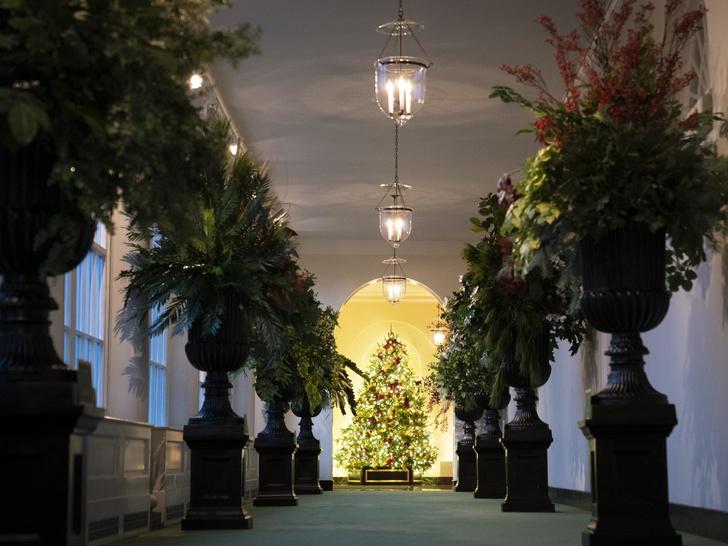Фото №5 - Последнее Рождество в Белом доме: что Мелания Трамп хотела сказать новогодними декорациями