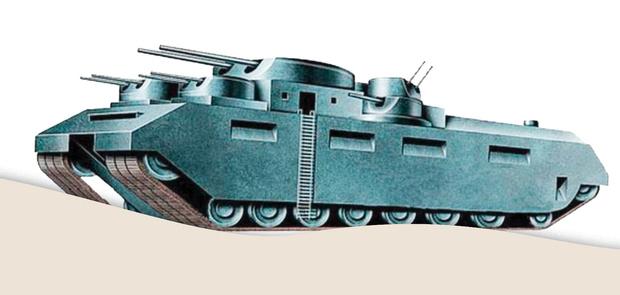 Фото №1 - Самые уродливые танки, созданные за всю историю вооружений. Часть II