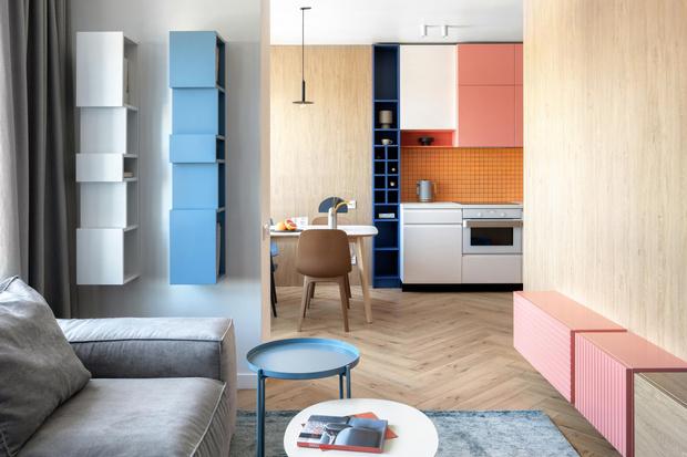 Фото №2 - Яркая квартира для молодой семьи в Киеве 75 м²