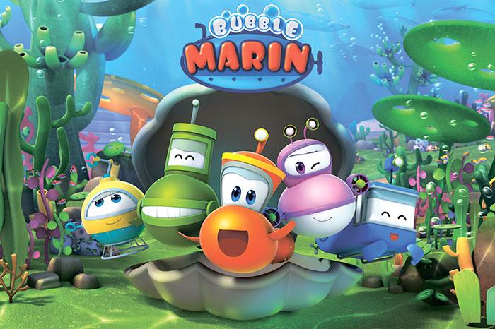 Фото №1 - Большая премьера «Марин и его друзья» на телеканале «Карусель»