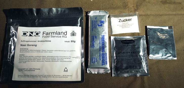 Фото №37 - Редкий паек для немецких спецподразделений: распаковка, дегустация, много фото