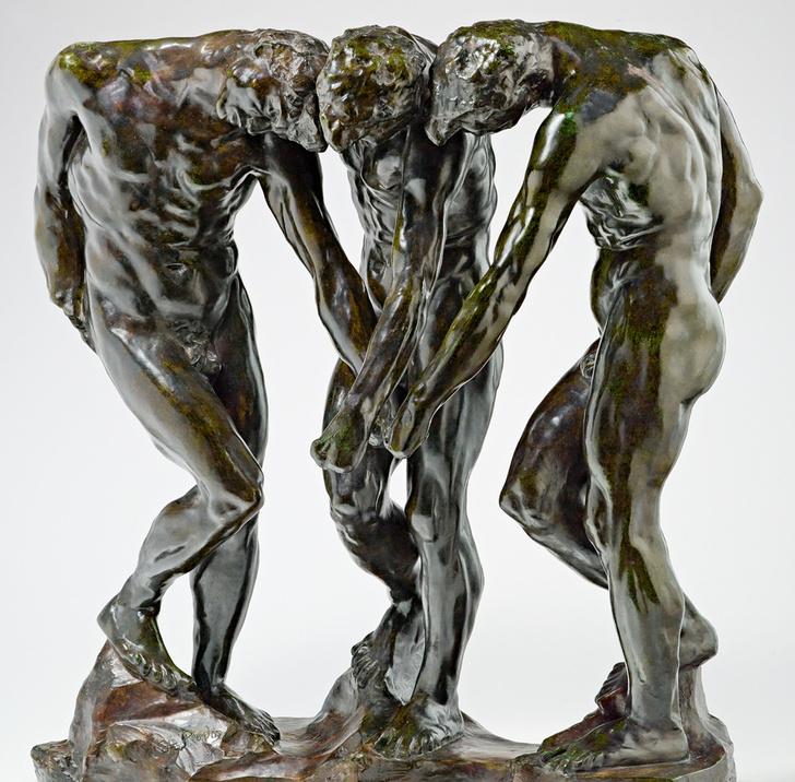 Фото №3 - Восставшие из ада: «Мыслитель» Родена и покинувший «Врата ада»