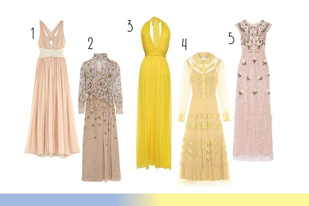 Фото №2 - Топ-10: Выпускные платья в пол
