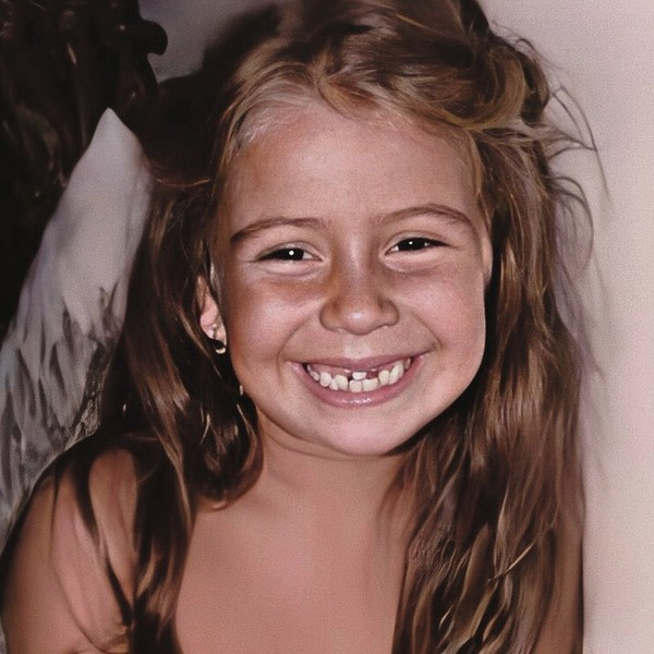Джованна Антонелли в детстве