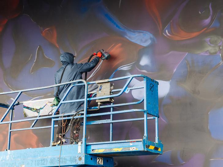 Фото №1 - Что нужно знать о новом мурале художника Саши Купаляна