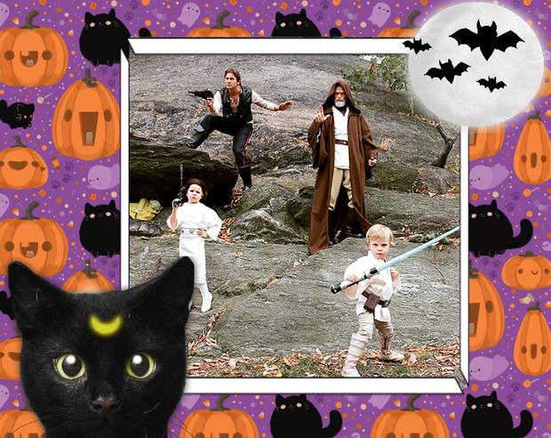 Фото №18 - Лучшие костюмы звезд с прошедшего Хэллоуина