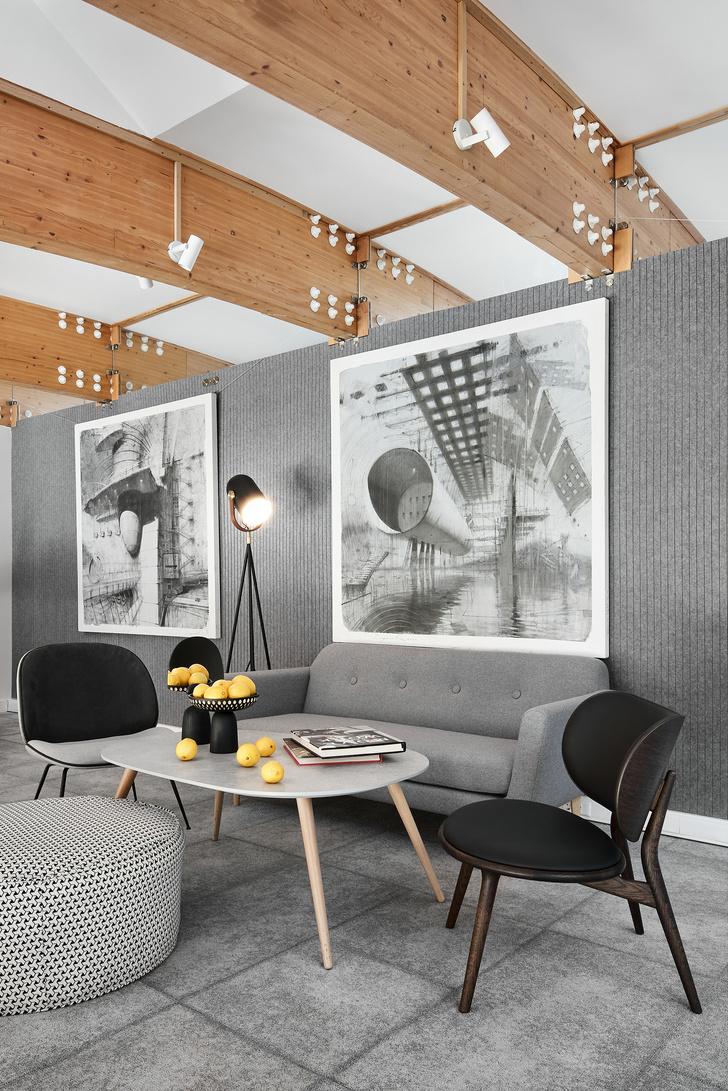 Фото №13 - Уютный офис в скандинавском стиле с верандой в Петербурге