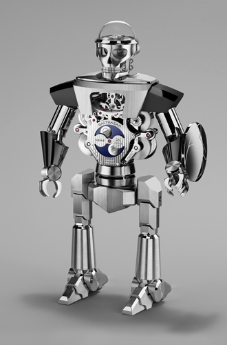 Фото №3 - Настольные часы Balthazar: робот, предсказывающий ваше настроение