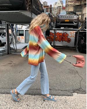 Фото №7 - Стиль Эльзы Хоск: как одевается самая яркая топ-модель новой эпохи