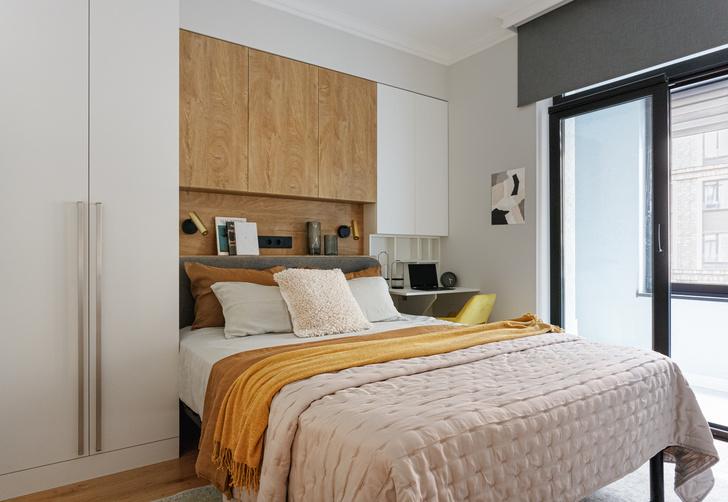 Фото №1 - Хранение вещей в спальне: идеи и решения