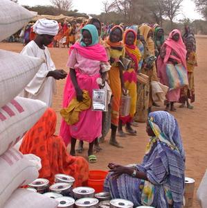 Фото №1 - ООН сократит помощь голодающим
