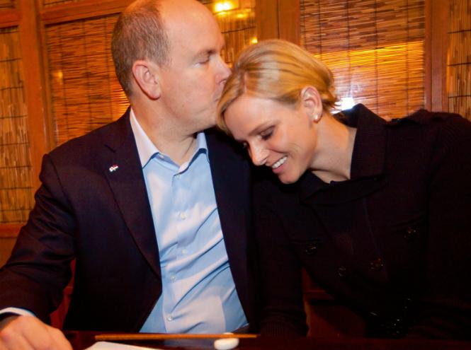 Фото №22 - Счастливы вместе: князь Альбер и княгиня Шарлен