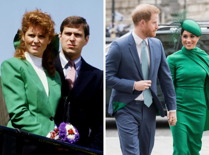 Фото №1 - Герцог и герцогиня Скандал: как Сассекские повторяют печальную историю Йоркских