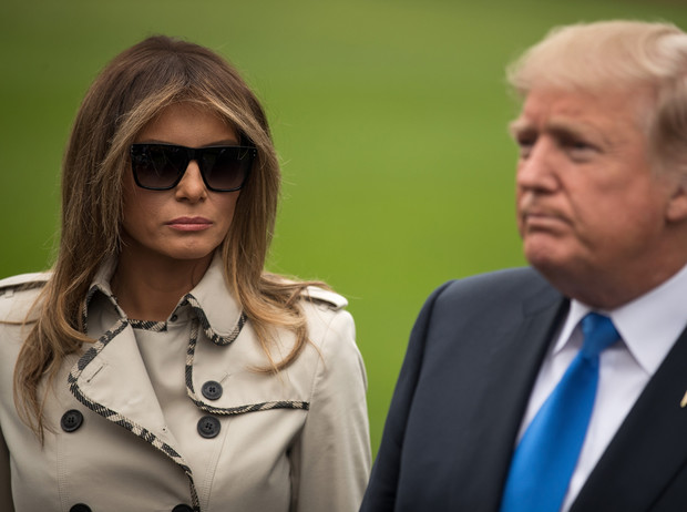 Фото №1 - Тихий омут Мелании Трамп: что не так с Первой леди США (и c ее отношениями с президентом)
