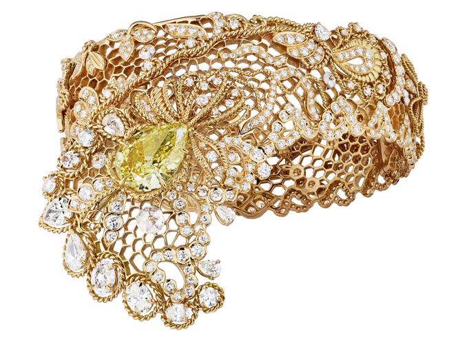 Фото №1 - Золотые кружева Dior Haute Joaillerie: коллекция Dior Dior Dior