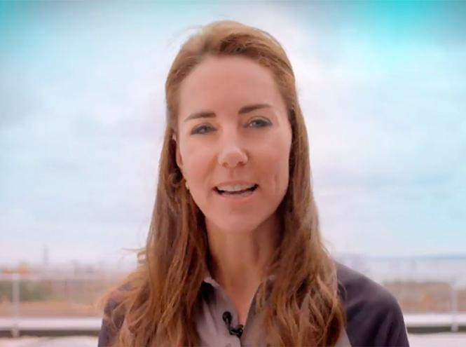 Фото №2 - Герцогиня Кембриджская появилась на видео Team GB почти без макияжа