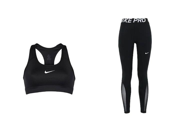Фото №3 - В чем тренируется Кендалл Дженнер? Модель выбирает форму Nike с прозрачными вставками