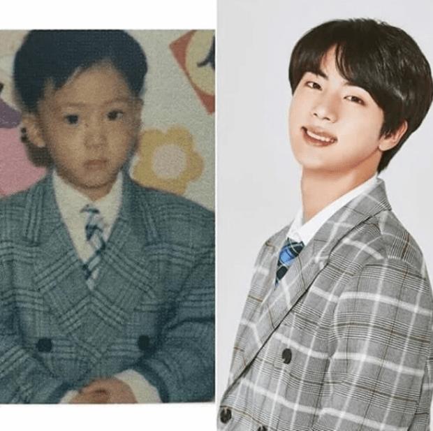 Фото №4 - Милота дня: BTS воссоздали свои детские фотографии