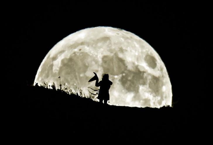 Фото №1 - Голубая луна