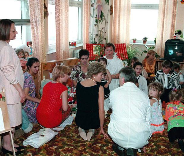 Фото №12 - Диана в Москве: как прошел единственный визит принцессы в Россию