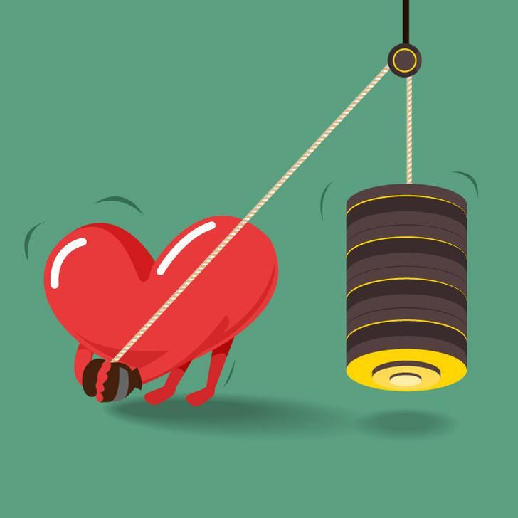 shutterstockЧеловеческое сердце — невероятно выносливый орган. Несмотря на то что сердце составляет всего 1/215 часть массы тела у мужчин и 1/250 — у женщин, а весит всего 220—300 г, каждую секунду оно перегоняет по сосудам около 70 мл крови, или 6 тысяч л в сутки. За 70—72 года жизни этот малолитражный «мотор» перекачивает более 160 миллионов литров крови и совершает при этом работу, равную работе эскалатора, поднимающего электричку на вершину Эвереста.