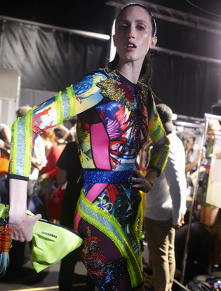 Фото №9 - Неделя моды в Милане: Versace, Roberto Cavalli, DSquared2